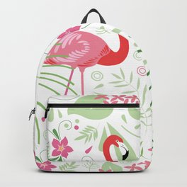 Flamingos red Backpack