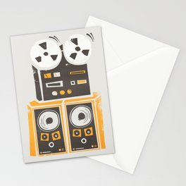 Reel to Reel Player Stationery Cards