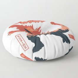 The King of Monsters vol.2 Floor Pillow