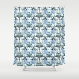 Roses with Bouquets Shower Curtain
