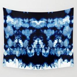 Tie-Dye Shibori Neue Wall Tapestry
