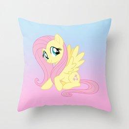 g4 my little pony Fluttershy Throw Pillow
