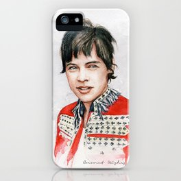 H Watercolors V iPhone Case