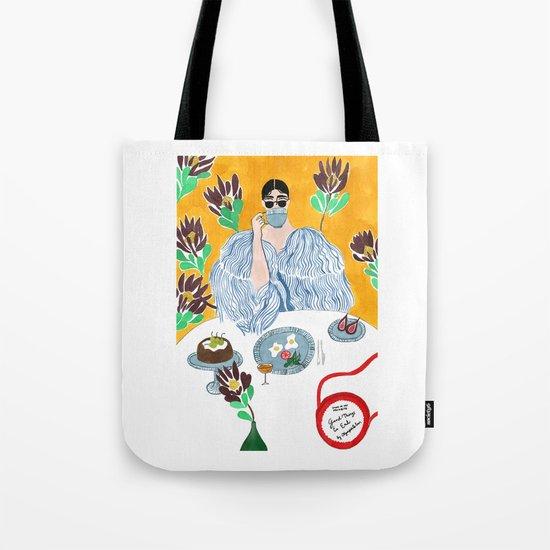 Olympia Le-tan Breakfast Tote Bag