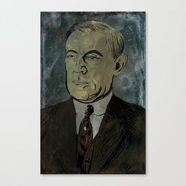 Woodrow Mi-Go Wilson Canvas Print
