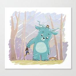 Friendly Creature Canvas Print