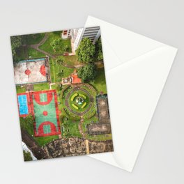 Singapore aerial drone Stationery Cards