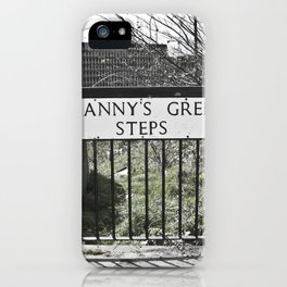 Granny's Green Steps iPhone Case