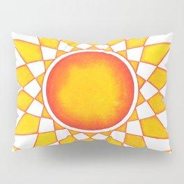 RadialDesignYellowN0.2 Pillow Sham