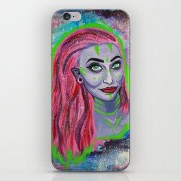 Galaxy Girl Series -3- Caitlin iPhone Skin