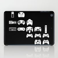 gaming iPad Cases featuring History of gaming by Pieterjan Arends