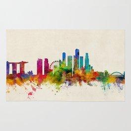 Singapore Skyline Rug