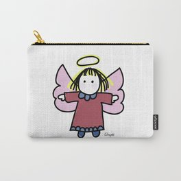 Whimsy Angel Carry-All Pouch