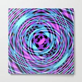 Rotating in Circles Series 03 Metal Print
