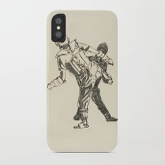 Tae Kwon Do Sparring iPhone X Slim Case