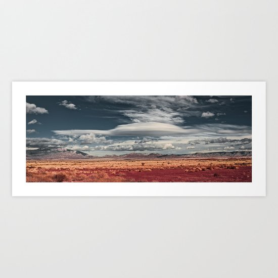 NEW MEXICO DROP POINT Art Print