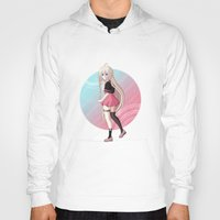 vocaloid Hoodies featuring IA - VOCALOID Gakuen by Tenki Incorporated