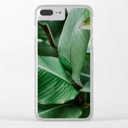 Heart Line Clear iPhone Case