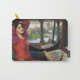 "John William Waterhouse - ""I am half sick of shadows"" said the Lady of Shalott Carry-All Pouch"