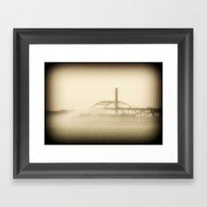 Hoan Bridge-Milwaukee Framed Art Print