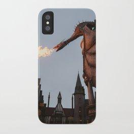 Diagon Dragon iPhone Case
