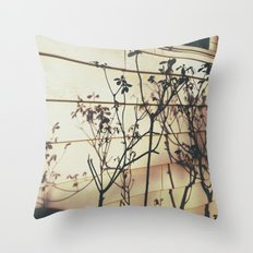 Branches Reflections Throw Pillow