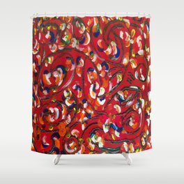 Whimsical Shower Curtain
