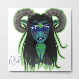 Nightelf Demonhunter Metal Print
