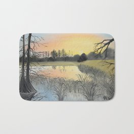 Nudity On The Water Bath Mat