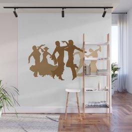 Flamenco Dancers Illustration  Wall Mural