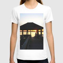 Norwalk, Sheffield Island, Sunset, Connecticut T-shirt