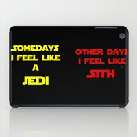 sith iPad Cases featuring Feel Like Sith by Kramcox