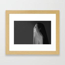 Seeking what's left of truth Framed Art Print