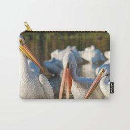 Three Birds Walk Into A Bar Carry-All Pouch