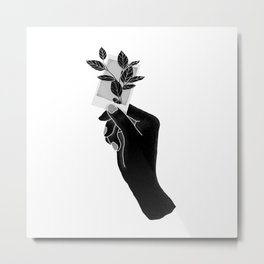 Just don't forget your past self Metal Print
