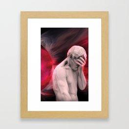Repentant Man Framed Art Print