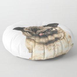 Cheeky Pug Floor Pillow