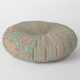 Pallid Minty Dimensions 5 Floor Pillow