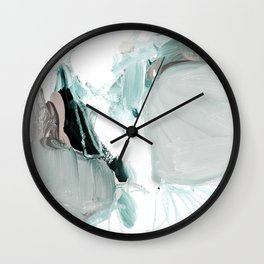 abstract painting XX Wall Clock