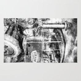 Foden Steam Lorry Vintage Rug