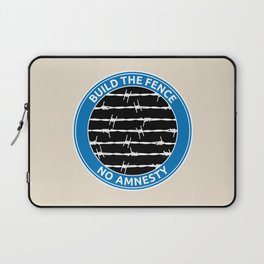 Build The Fence Laptop Sleeve