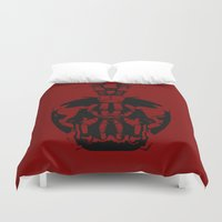 bane Duvet Covers featuring Bane by WaXaVeJu