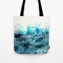Green Wave #1 Tote Bag