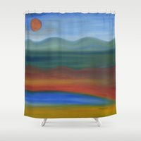 france Shower Curtains featuring France by Louvretta
