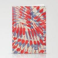iggy Stationery Cards featuring Iggy Palms by Gukuuki Studio