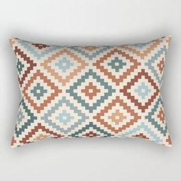 Aztec Block Symbol Ptn TCT Rectangular Pillow