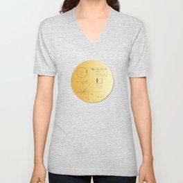 Voyager 1 Golden Record #2 Unisex V-Neck