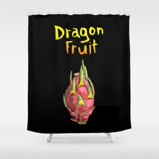 Dragon Fruit Shower Curtain