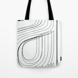 Helvetica Condensed 002 Tote Bag