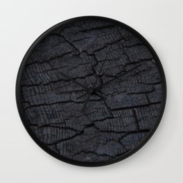 Old End Grain Wall Clock